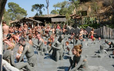 Dalyan Çamur Banyoları: Dalyan'ın Gezilecek Yerleri